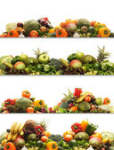 Set of different fresh tasty vegetables — Stock Photo