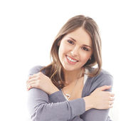 Young attractive girl — Stock Photo
