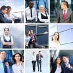 negocios, tiempo, dinero y éxito — Foto de Stock