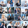 Stock Photo: Business, time, money, and success