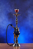 Exotic hookah with the fruit on the top — Stock Photo