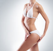 Body of young and beautiful woman — Stock Photo