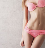 Sexy body of young beautiful woman — Stock Photo
