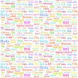 Hello word in different languages — Foto de Stock   #40887859