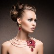 Rich woman in jewels — Stock Photo #40888069