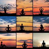Zen, yoga and meditation — Stock Photo