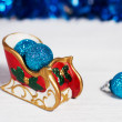Christmas sleigh - Stock Photo