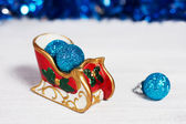 Christmas sleigh — Stock Photo