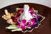 Thai spa arrangement — Stock Photo