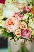 Gentle bouquet. Instagram effect, vintage colors. — Stock Photo