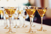 Celebration. Champagne glasses. — Stockfoto