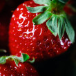 Ripe strawberry close up — Stock Photo #49642813