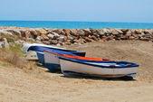 Boats in Torreblanca — Stock Photo