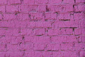 Background wall the brick violet lilac bright — Stock Photo