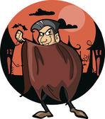 Halloween cartoon character — Stock Vector