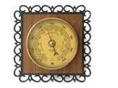 Barometer on a white background — Stock Photo