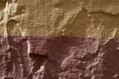 Wall surface, brown and ochra — Stock Photo