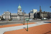 The government palace on plaza del Congresso at Buenos Aires — Stock Photo