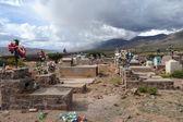 Cemetery at Quebrada de Humahuaca — Stock Photo
