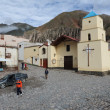 Stock Photo: Indigenous village of Iruya on argentina andes