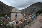 Cemitério indígena em iruya — Foto Stock