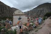 Pozyskanie cmentarz w iruya — Zdjęcie stockowe