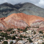 Cerro 7 colores at Purmamarca on argentina andes — Stock Photo #14194559