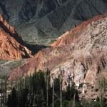 Cerro 7 colores at Purmamarca on argentina andes — Stock Photo #14195824