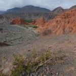 Cerro 7 colores at Purmamarca on argentina andes — Stock Photo #14195949