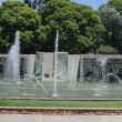 Fountain on square of Indipendenza at Mendoza, Argentina — Foto de Stock