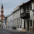 Colonial houses of Salta — Stock Photo