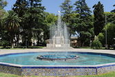 Fountain on square of Italy at Mendoza, Argentina — Stock Photo