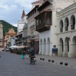 Stock Photo: Colonial houses of Salta