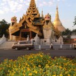 Stock Photo: Shwedagon pagodat Yangon capital of Burma