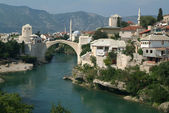 Mostar town in Bosnia and Herzegovina, Balkans — Stock Photo