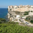 ������, ������: Historic town of Bonifacio on Corsica island