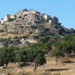 The village of Sant Antonio on Corsica island — Stock Photo