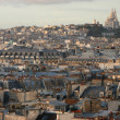 Stock Photo: Roofs of Paris