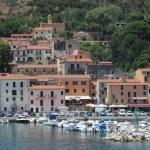 The village of Rio Marina on Elba island — Stock Photo