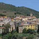 The village of Rio in Elba on Elba island — Stock Photo
