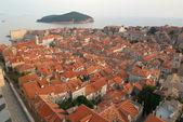 The peninsola of Dubrovnik UNESCO world heritage site — Stock Photo