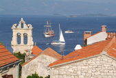 The town of Korcula, Croatia — Stock Photo