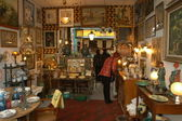 Clignancourt flea market at Paris — Foto Stock