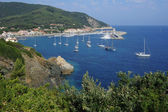 The village of Marciana Marina on Elba island — Stock Photo