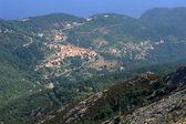 The village of Marciana on Elba island — Stock Photo