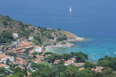 The village of San Andrea on Elba island — Stock Photo