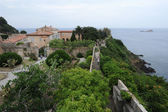 Villa dei Mulini house of Napoleon at Portoferraio on Elba island — Stock Photo