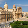 Stock Photo: Cathedral of Noto on Sicily UNESCO world heritage