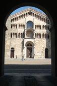 Cathedral of Parma on Emilia Romania — Stock Photo