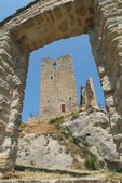 Castle Carpineti on Emilia Romania — Stock Photo